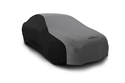 Coverking Custom Fit Car Cover for Select Austin Healey Sprite Models - Satin Stretch (Gray with Black Sides)