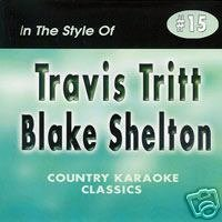 TRAVIS TRITT & BLAKE SHELTON Country Karaoke Classics CDG Music CD