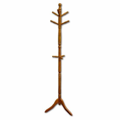 ORE International Natural Wood Coat Rack