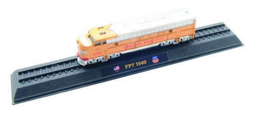 FP7 Union Pacific - 1949 diecast 1:160 scale locomotive model (Amercom LN-42)