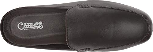 Mules Slip Leather Chocolate Comfort Carlos Santana PLANEO Dark in Slides qwHt0vxA