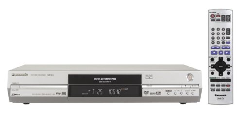 Panasonic DMR-E55S Progressive Scan DVD Recorder/Player, Sil