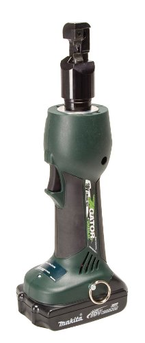 Greenlee ETS8L11 Gator Battery-Powered Cable Tray Cutter with 120V Charger (Greenlee Battery Cable Tray Cutter)