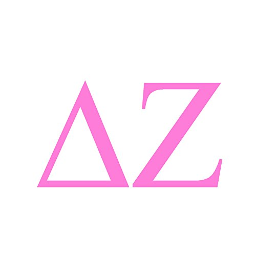 StickerDad Delta Zeta Sorority Vinyl Decal Size: 6