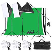 (Andoer Studio Lighting Kit for Photography, 20