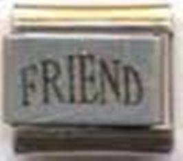 (9mm Friend Italian Charm)