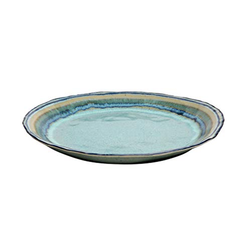 Casafina Sausalito Collection Stoneware Ceramic Round Serving Platter 14