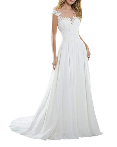 Women's A-line Vintage Sweetheart Lace Appliqued Bridal Gowns Wedding Dresses Plus Size