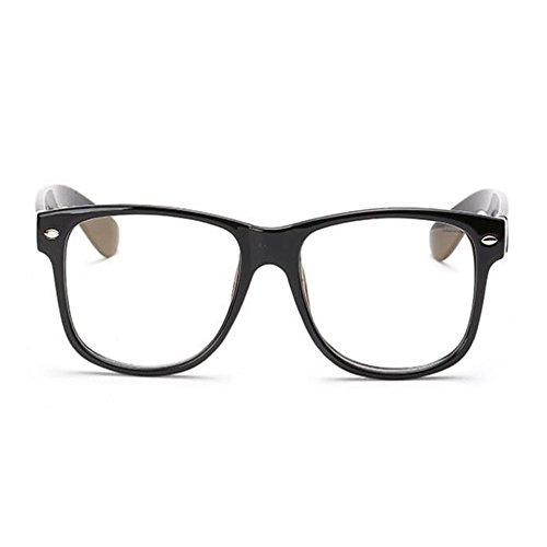 Previniendo Brillante luz azul UV los Anti Anti fatiga ojos Claro Filtro de Negro Vintage Moda Gafas Mujer Hombre Eyewear Computadora Xinvision Lente xgwq1YSTn