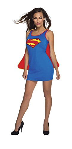 Rubie's Women's DC Superheroes Supergirl New 52 Series Tank Dress, Multi, Small -