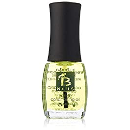 Barielle Cuticle Conditioning Oil w/Almond Oil – for Dry and Cracked Cuticles, Moisturizes and Nourishes Nails and Cuticles, Leaves Cuticles Incredibly Soft and Healthy .45 Ounce