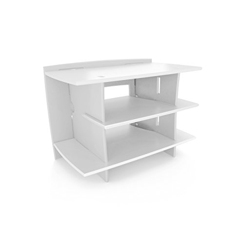 Unit Reception Modular (Legare Kids Gaming and TV Stand, Storage Unit, White)