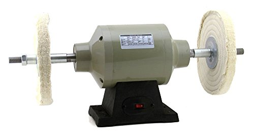 Generic er Polishertrial Gra Industrial Grade New 1/2 hp Bench Grinder Style Single Speed 8 Buffer Polisher New 1/2 hp Sing by Generic