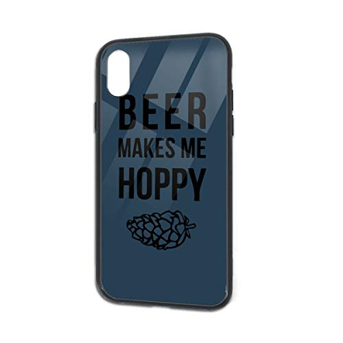 Shockproof Beer Makes Me Hoppy Soft Silicone TPU