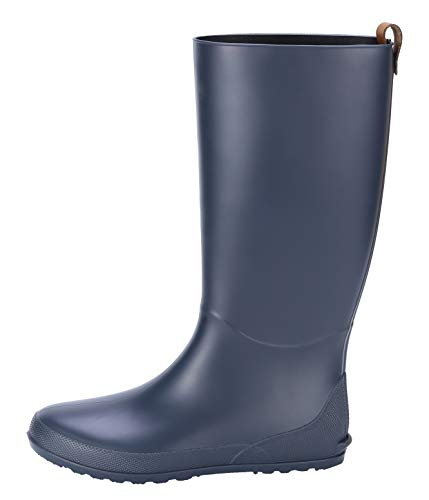 - Women's Tall Rain Boots Ultra Lightweight Knee High Waterpoof Garden Shoes Soft Wellingtons Wellies BL40