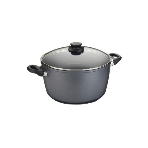 Swiss Stock - Swiss Diamond Nonstick Stock Pot - 8.5 qt (11