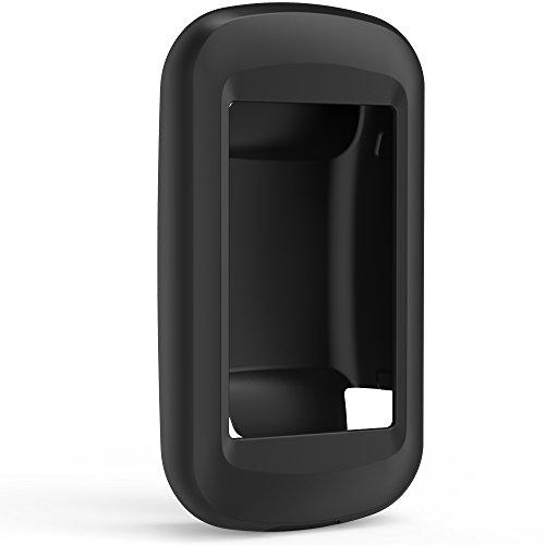 TUSITA Case for Garmin Montana 600 610 610t 650 650t 680 680t - Silicone Protective Cover - GPS Bike Computer Accessories (Black) (650 Garmin Case)