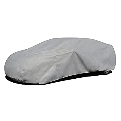 Budge RB-3 Rain Barrier Car Cover Gray Size 3: Fits up to 16' 8