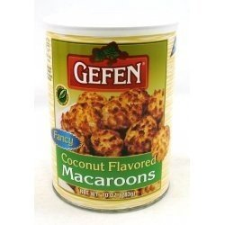Gefen Gluten Free Macaroons, Coconut, 10 oz Kosher For Passover
