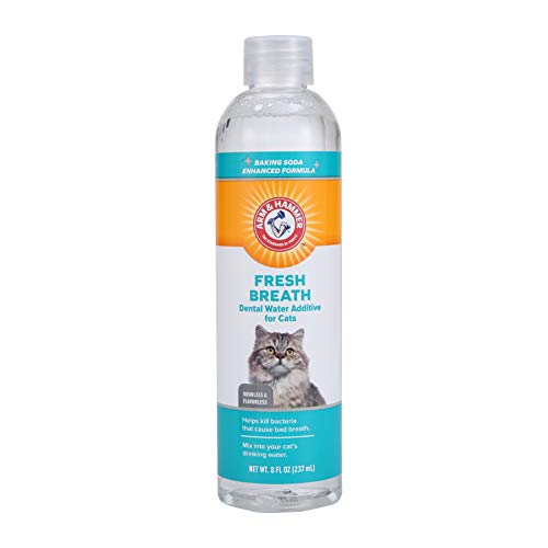 Arm & Hammer Advanced Care Dental Water Additive For Cats | Cat Dental Rinse , 8 Ounces