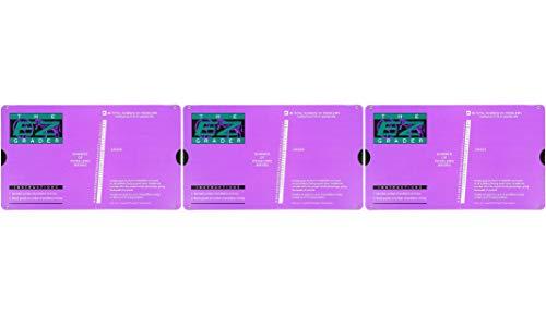 E-Z Grader Grading Calculator Teacher's Aid Scoring Chart (Purple) - 8-1/2'' x 4-3/4'' (3-(Pack)) by  (Image #3)
