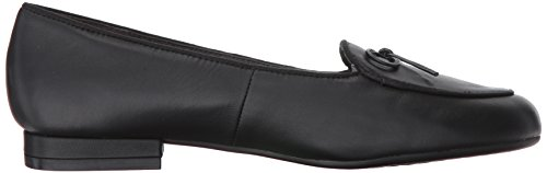 Black Leather Aerosoles Slip on Feel Loafer Women's Good ZRC7xOa