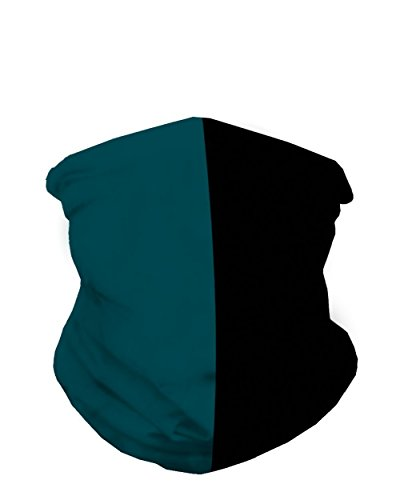 INTO THE AM Midnight Green & Black Sports Fan Mask - Am Eagle