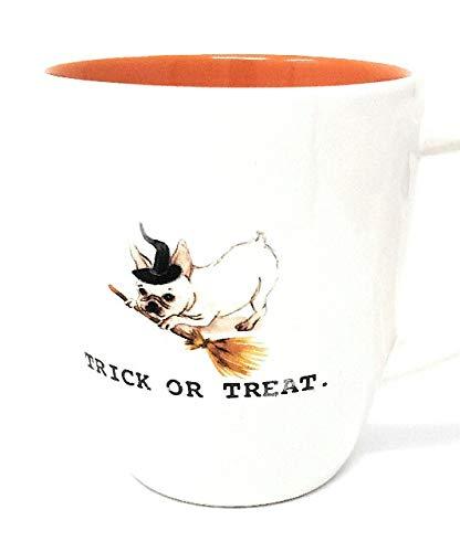 Rae Dunn Halloween Trick or Treat Dog Mug