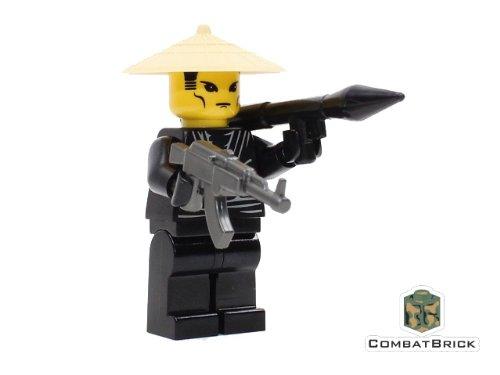 Vietnam War VietCong Soldier - Custom Army Builder Military Minifigure (Best Custom Ak 47 Builders)