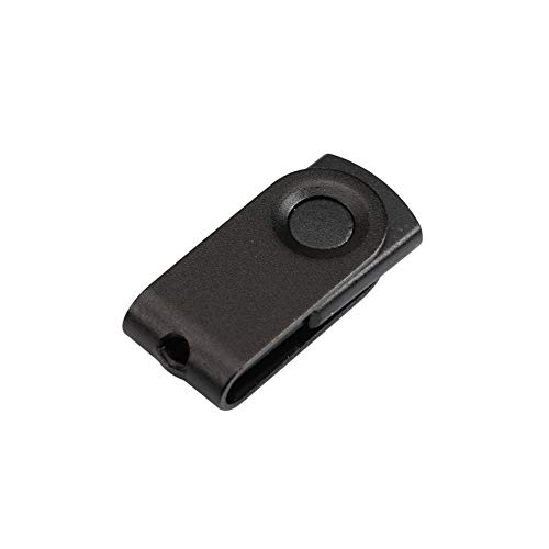 FAgdsyigao 128MB-64GB Waterproof Swivel Mini U Disk, USB Flash Drive Memory Storage Stick Black 512mb
