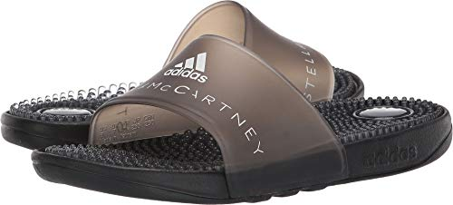 adidas by Stella McCartney Women's Adissage W Core Black/Core Black/Footwear White 1 5 M US