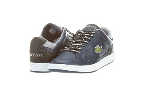 Lacoste Mens Nistos 2 RS Black/Grey Fashion Sneakers Dark Blue/Black