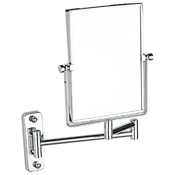 Amazon Com Dw Amp Hx Bathroom Makeup Mirror Square Makeup