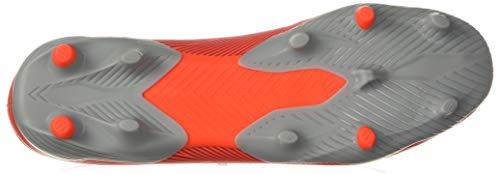 adidas Men's Nemeziz 19.3 Firm Ground Soccer Shoe, Active Red/Silver Metallic/Solar Red, 7.5 M US 4
