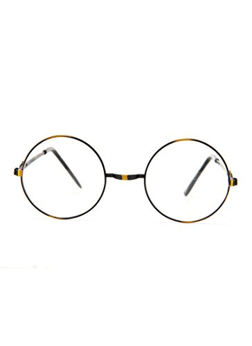 Harry Potter Plastic Costume Glasses (Book Costumes For Adults)
