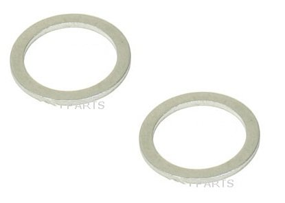 Set Of 2 Transmission Drain Plug Seal (18 X 24 X 1.5 mm) FISCHER & PLATH (Transmission Plug Set)