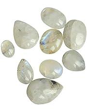 REAL - GEMS Naturliga lösa ädelstenar pärlor ~ blandade ädelstenar pärlor ~ fasetterade pärlor lösa ädelstenar för smycken.