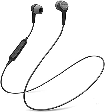 Amazon Com Koss Bt115i Wireless Bluetooth Earbuds In Line Microphone Volume Control And Touch Remote Sweat Resistant Dark Grey And Black Home Audio Theater