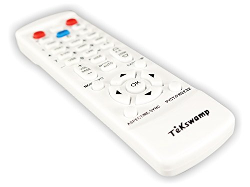 BenQ MH530 TeKswamp Video Projector Remote Control (White) by Tekswamp (Image #1)