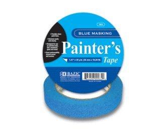BAZIC Painter's Masking Tape, 60 Yards, Blue