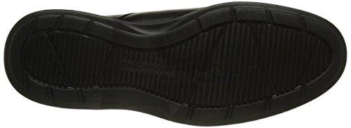 Rockport Dressports 2 Lite Apron Toe - Zapatos Hombre Negro (Black Leather)