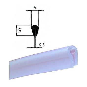 Protector de bordes Eutras KSO4004 tira de refuerzo para bordes de 0,4 –  1,5 mm, negro, 3 metros, 2061 4-1 5mm negro 3metros Deutschland