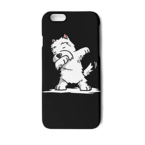 BoDu iPhone 6 Plus iPhone 6s Plus Case White Terrier Dabbing West Highland TPU Protective Shockproof for iPhone 6 plus/6s -