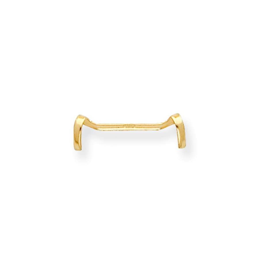 JewelryWeb 14k Yellow Gold Ladies Ring Guard