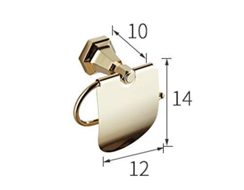 HCZ Zlgbat Bathroom Supplies Baño de tocador tocador tocador European Classic Toallero de Toalla de latón Macizo Oro Oro Montado en la Pared Productos de baño Place Base Accesorio de baño, V,A 56a170