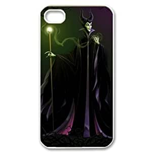 longenology Custom Your Own Personalised Maleficent iPhone 4/4S Best Durable Case Cover