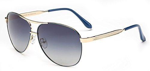 The Big Lens Fashion Drving Polarized blue - Sunglasses Topman