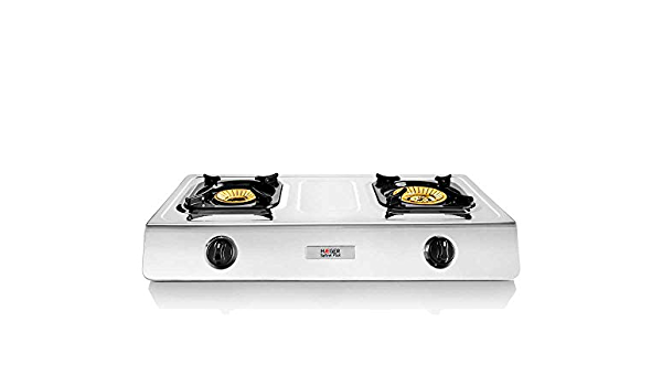 HAEGER SAFINE Plus - Cocina a Gas en INOX, 2 Quemadores ...