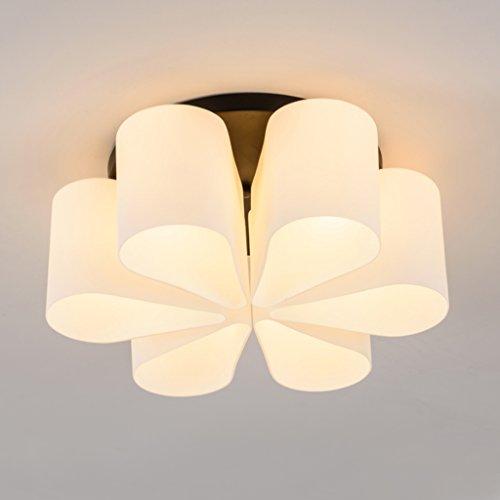 Nordic Plafond Forme LedLampe De Verre Tmy En Luminaire nwN0m8
