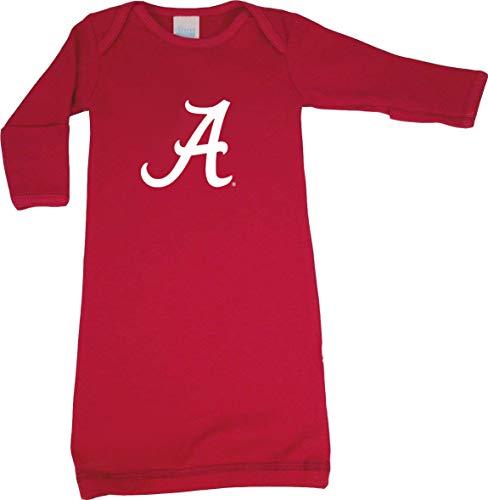 (Future Tailgater Alabama Crimson Tide LOGO Baby Layette Gown)